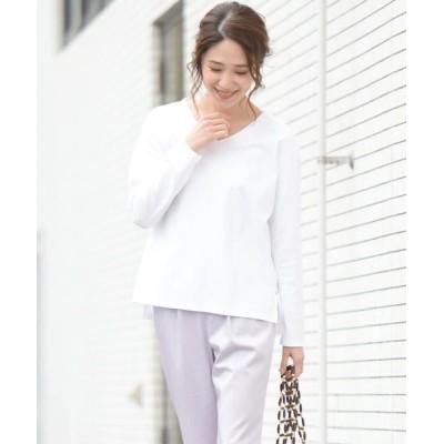 MAYSON GREY/メイソングレイ マスタリースムースロングTシャツ ホワイト M
