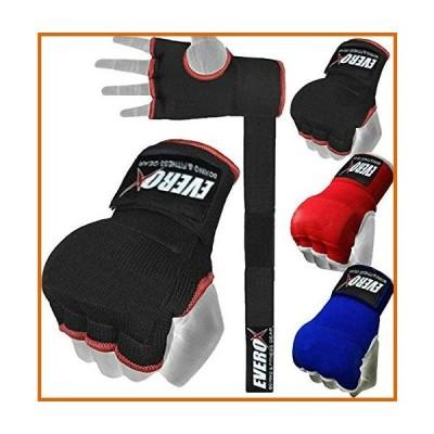 送料無料 Everox Padded Inner Gloves Training Gel Elastic Hand Wraps for Boxing Gloves Punching Quick Wraps Men & Women Kickboxing Muay T