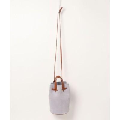 salle de bal / 【 Hashibami / ハシバミ 】ドローイングスウェード 巾着バッグ WOMEN バッグ > ショルダーバッグ