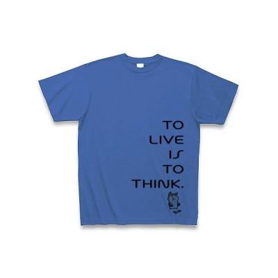 TO THINK. Tシャツ(サムライブルー)
