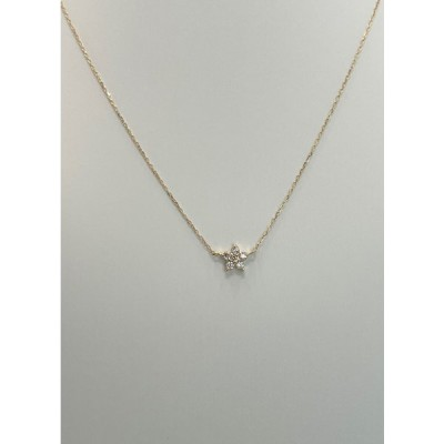 k18 イエローゴールド ネックレス ダイヤモンド 18金