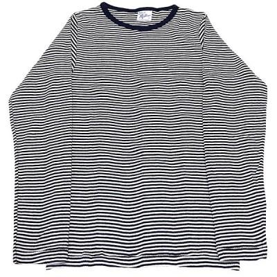 RP MILLER BORDER LONG SLEEVE TEE(ミラーボーダー長袖Tシャツ) (ホワイトXネイビー)