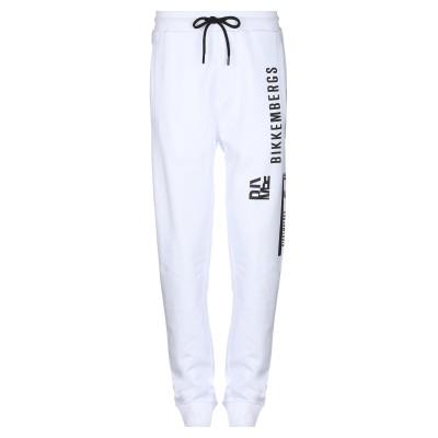 ビッケンバーグ BIKKEMBERGS パンツ ホワイト XS コットン 100% パンツ