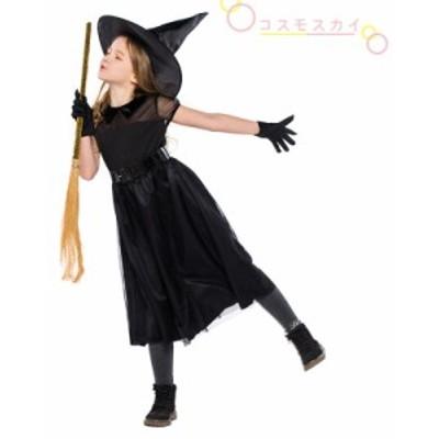 ハロウィン ワンピース 女の子 子供用 魔女 Halloween衣装 巫女 悪魔 コスプレ コスチューム 仮装 パーティー用 欧米風 クリスマス チュ