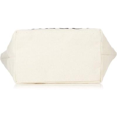 カンゴール トートバッグ KANGOLロゴ刺繍 厚手コットンキャンバス ホワイト