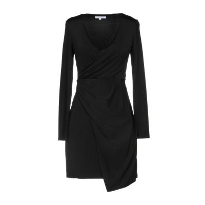 パトリツィア ペペ PATRIZIA PEPE ミニワンピース&ドレス ブラック 2 レーヨン 95% / ポリウレタン 5% ミニワンピース&ドレス