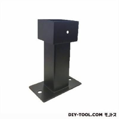 フジテック インパクト柱受角 90mm ブラック塗装 44827 1個