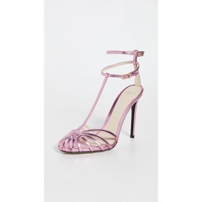 アレヴィーミラノ Alevi Milano レディース サンダル・ミュール シューズ・靴 Stella Caged Sandals Shine Deep Pink