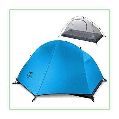 Naturehike バックパック キャンピングテント 1人用 超軽量 防水 紫外線防止 二重層 ポータブル フットプリント 並行輸入品