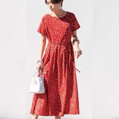 ジーラ バイ リュリュ(ファッション)(GeeRA (fashion))/タックフレアープリントワンピース