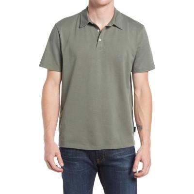 エージー AG メンズ ポロシャツ 半袖 トップス Bryce Short Sleeve Polo Hunter Sage