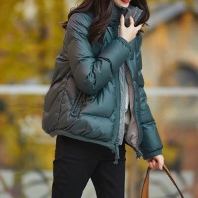 中綿コート レディース 40代 20代 軽い 秋冬 アウター 中綿ダウンコート 中綿ジャケット ダウン風コート 大きいサイズ 防寒 暖かい 冬用