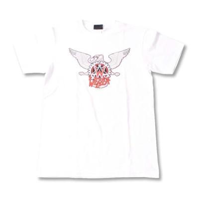 Tシャツ バンドTシャツ ロックTシャツ 半袖 (W) ウィーザー WEEZER 3 WHT S/S 白