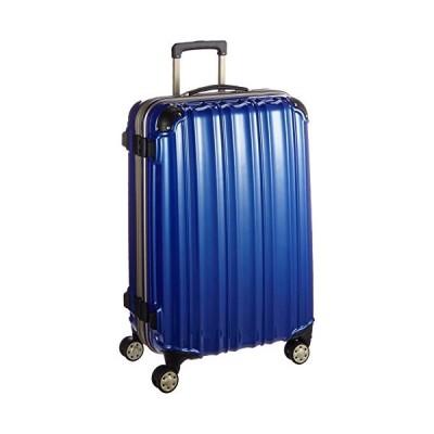 [ビータス] スーツケース ハード 4輪 BH-F2000 保証付 87L 78 cm 6kg 鏡面ディープブルー
