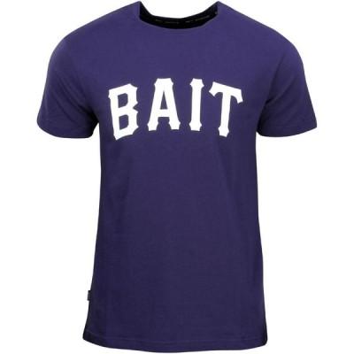 BAIT メンズ Tシャツ トップス Heavy Hitter Tee navy