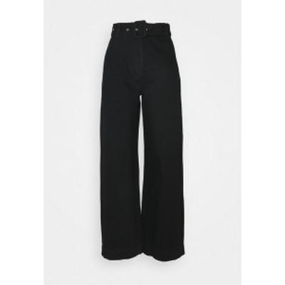 セレクテッドフェム レディース デニムパンツ ボトムス SLFWILLOW PANT - Flared Jeans - black denim black denim