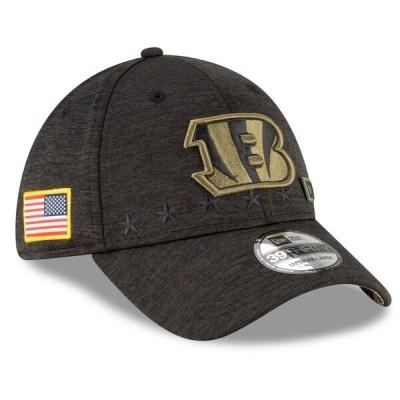 NFL キャップ 帽子 ベンガルズ ニューエラ New Era 39THIRTY 2020 サルートトゥサービス Salute to Service ヘザーブラック