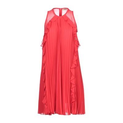 リュー ジョー LIU •JO ミニワンピース&ドレス レッド 42 ポリエステル 100% ミニワンピース&ドレス