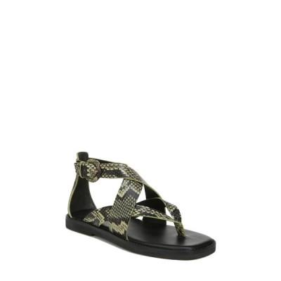 ヴィンス レディース サンダル シューズ Morris Strappy Flat Sandal MILITAIRE