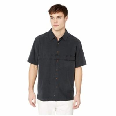 クイックシルバー Quiksilver Waterman メンズ シャツ トップス Tahiti Palms 4 Black