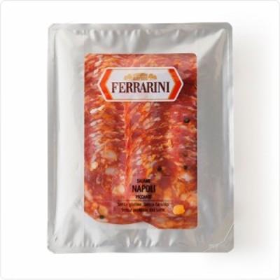 サラミ イタリア産サラミ ナポリピカンテ(スライス)【150g】【冷蔵】【D+2】【ソフトサラミソーセージ】