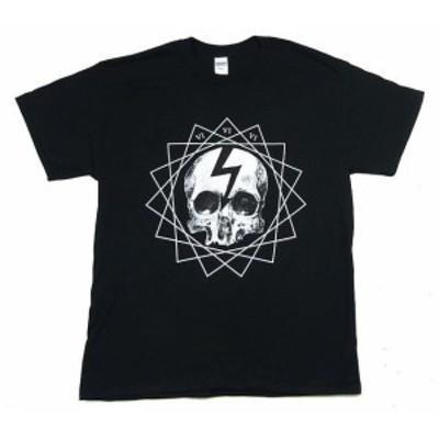 Marilyn  ファッション トップス Marilyn Manson-Faded Skull-X-Large Black T-shirt