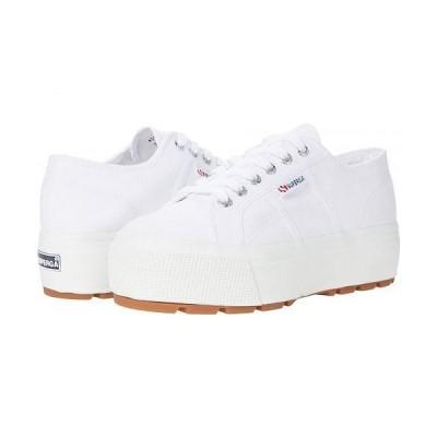 Superga スペルガ レディース 女性用 シューズ 靴 スニーカー 運動靴 2790 Tank COTW Sneaker - White