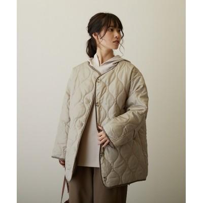 COLLARS / 【FLEUR DE KALINA/フレール ドゥ カリーナ】キルティングジャケット WOMEN ジャケット/アウター > ノーカラージャケット