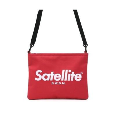 【ギャレリア】 サテライト Satellite サコッシュ ミニショルダー BASIC SACOCHE ベーシックサコッシュ  ショルダー nysale19−20 ユニセックス レッド F GALLERIA
