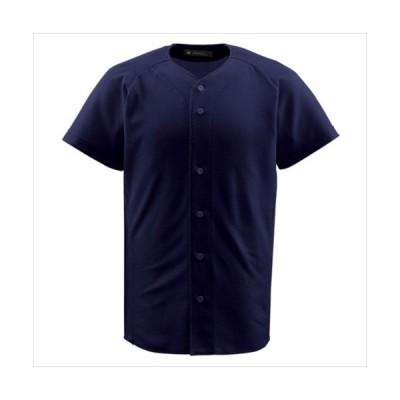(代引不可)デサント(DESCENTE) JDB1010-NVY ジュニアフルオープンシャツ (JDB1010)