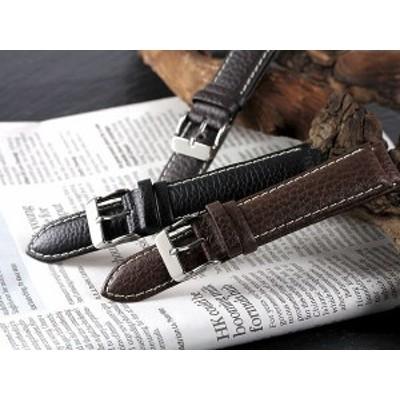 取寄品 替えベルト/カーフ時計バンド 本革腕時計用ベルト 交換用レザーベルト[20mm・22mm]送料無料