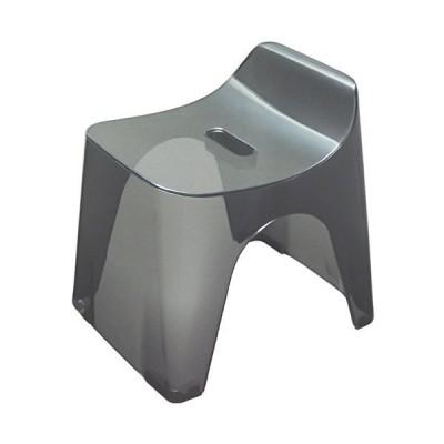 シンカテック ヒューバス 風呂椅子H25 座面高さ25cm クリアブラック 427635
