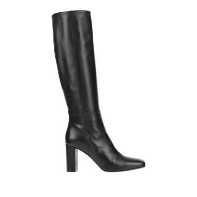 VIA ROMA 15 ブーツ ブラック 36.5 革 ブーツ