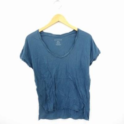 【中古】バンヤードストーム BARNYARDSTORM Tシャツ カットソー 無地 シンプル 丸首 フレンチスリーブ コットン 綿