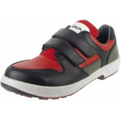 シモン トリセオシリーズ 短靴 赤/黒 25.5cm【8518RED/BK-25.5】(安全靴・作業靴・安全靴)