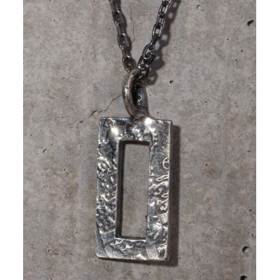 ability / THEFT セフト / SQUARE COIN NECKLACE スクエアコインネックレス / TPE-119 MEN アクセサリー > ネックレス