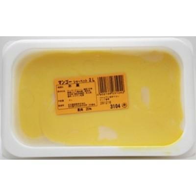 [冷凍] めいらく 業務用 マンゴーシャーベット 2L