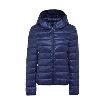 ダウンジャケット レディース 軽量 ショート 暖かい ウルトラライト コンパクト収納 ダウン コート おしゃれ 防風 防寒 暖かい 収納袋付き 帽 ネ