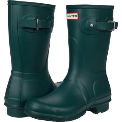 ハンター Hunter レディース シューズ・靴 Original Short Green Jasper