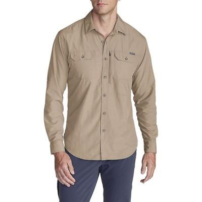 エディー バウアー Eddie Bauer Travex メンズ シャツ トップス Atlas Exploration LS Shirt Light Khaki