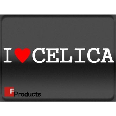 Fproducts アイラブステッカー/CELICA/アイラブ セリカ