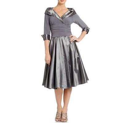 ジェシカハワード レディース ワンピース トップス Portrait Collar Midi Dress