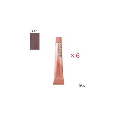 ミルボン オルディーブ 80g 9-NB ×6セット (医薬部外品)