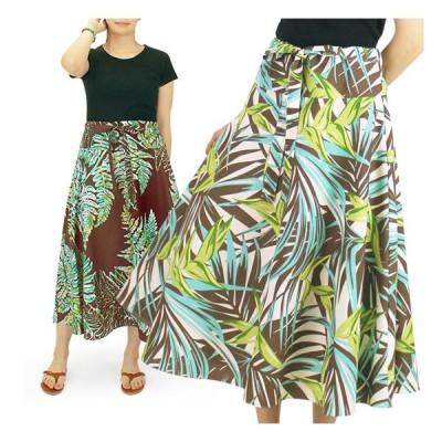 3way スカート ワンピース ハワイアン柄 既製品 fsit-rm-3wskt-hf01