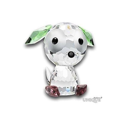 PRECIOSA 【プレシオサ】 クリスタルガラス かわいい 犬 (子犬) ★ Doggie Button ★ 【20%OFF】