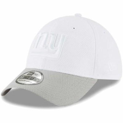 New Era ニュー エラ スポーツ用品  New Era New York Giants White/Gray Tone Tech Redux 2 39THIRTY Flex Hat