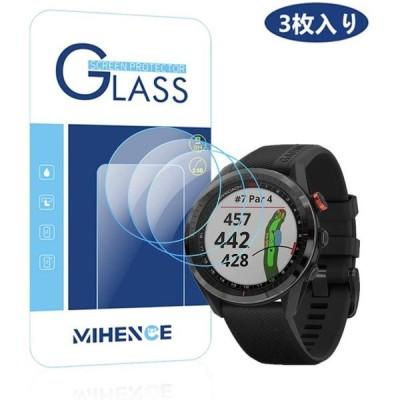 送料無料 3枚入り GARMIN ガーミン 保護フィルム, 9H ガラス保護フィルム 対応 Smartwatchスマート腕時計 ウォッチ指紋防止保護膜 SAC-055