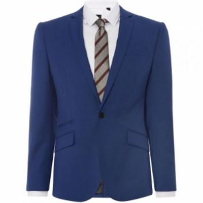 ケネス コール Kenneth Cole メンズ スーツ・ジャケット アウター Lance Micro Texture Jet Pocket Jacket Electric Blue
