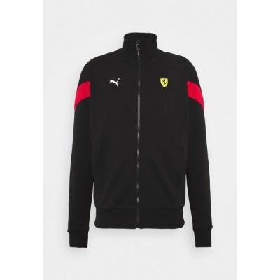 プーマ ジャケット&ブルゾン メンズ アウター FERRARI RACE  - Training jacket - black