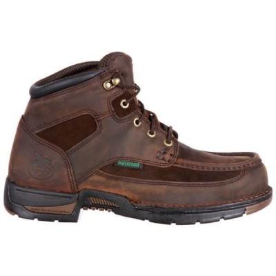 ジョージアブーツ メンズ ブーツ・レインブーツ シューズ Athens 6 Inch Waterproof Work Boots